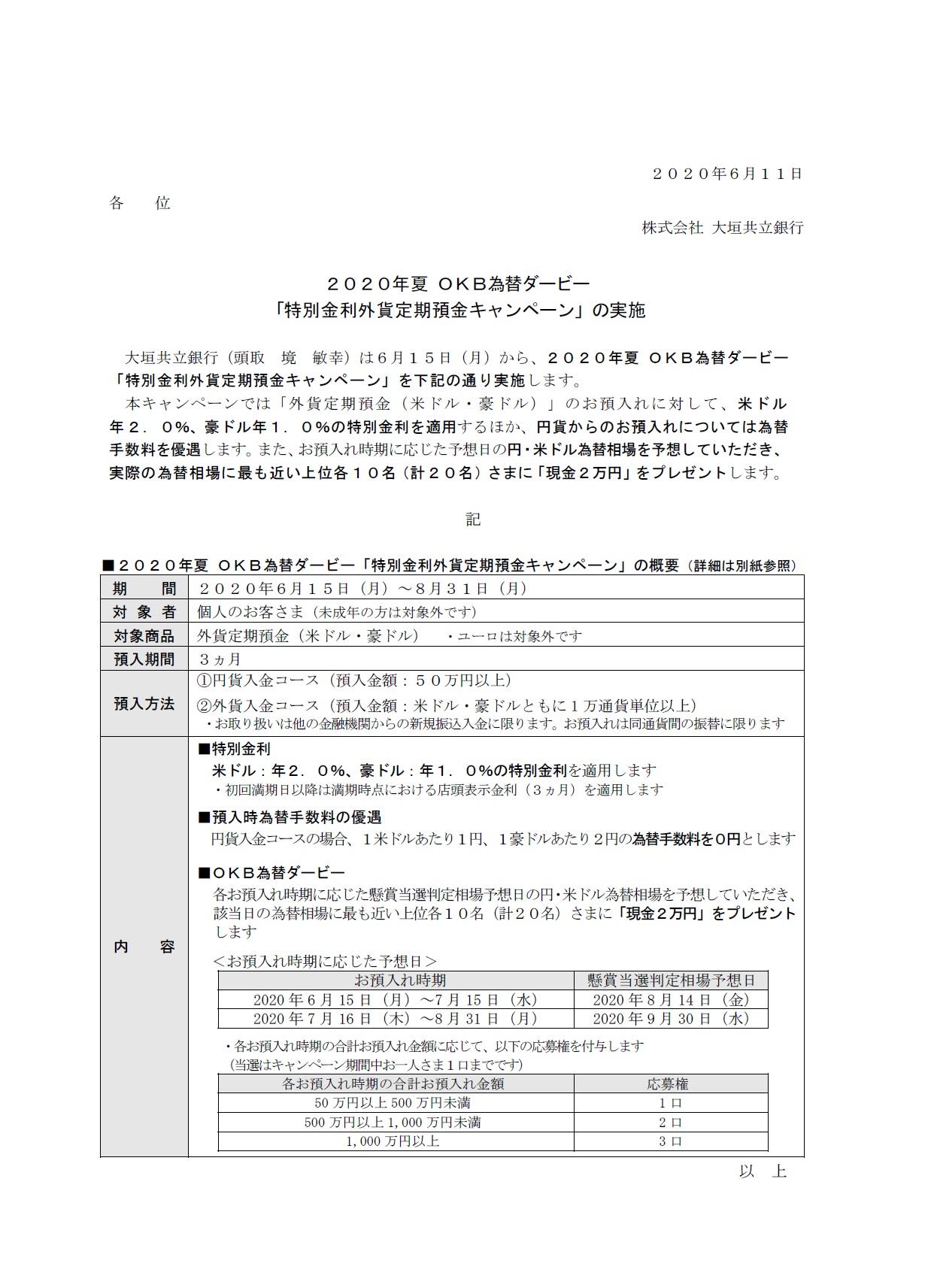 特別 金利 円 定期 キャンペーン 預金
